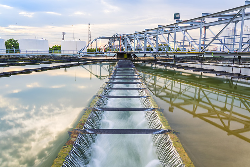 Rolfes Water Influent and Effluent